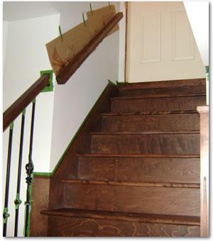 teinture de planchers essence de bois test de couleur application de teinture chantillons. Black Bedroom Furniture Sets. Home Design Ideas